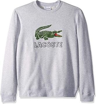 Lacoste Brushed Fleece Jersey Sweatshirt