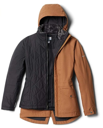 Columbia Mount Erie Plus-Size 3-in-1 Jacket