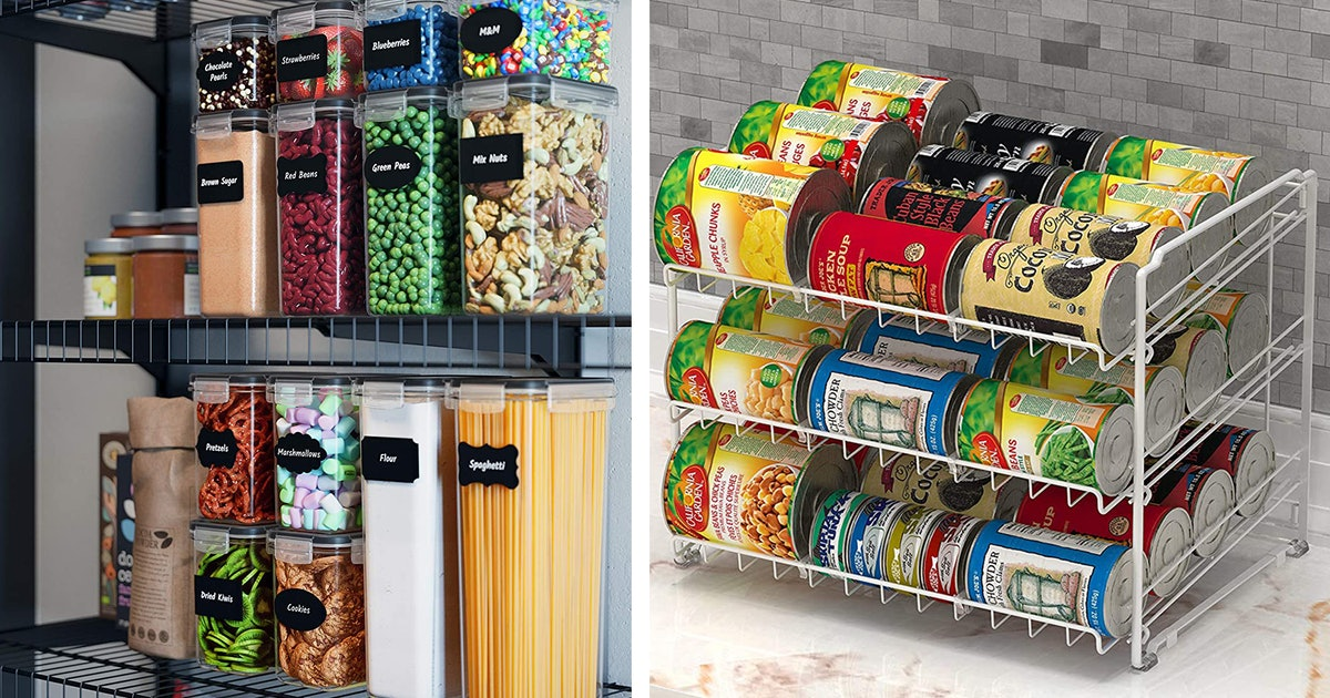7 Genius Organizers That'll Bring Order To Your Messy Pantry