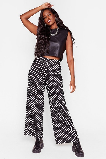 Nasty Gal We've Dot What You Want Plus Wide-Leg Pants