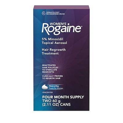 Rogaine Minoxidil Foam For Hair Loss