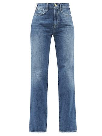 Le Jane Straight-Leg Jeans