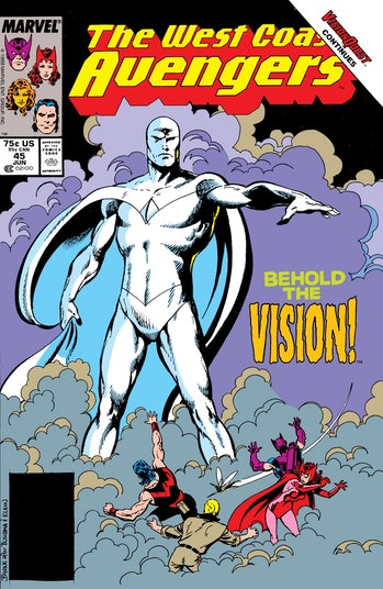 West Coast Avengers White Vision