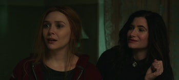 Kathryn Hahn and Elizabeth Olsen in WandaVision Episode 8