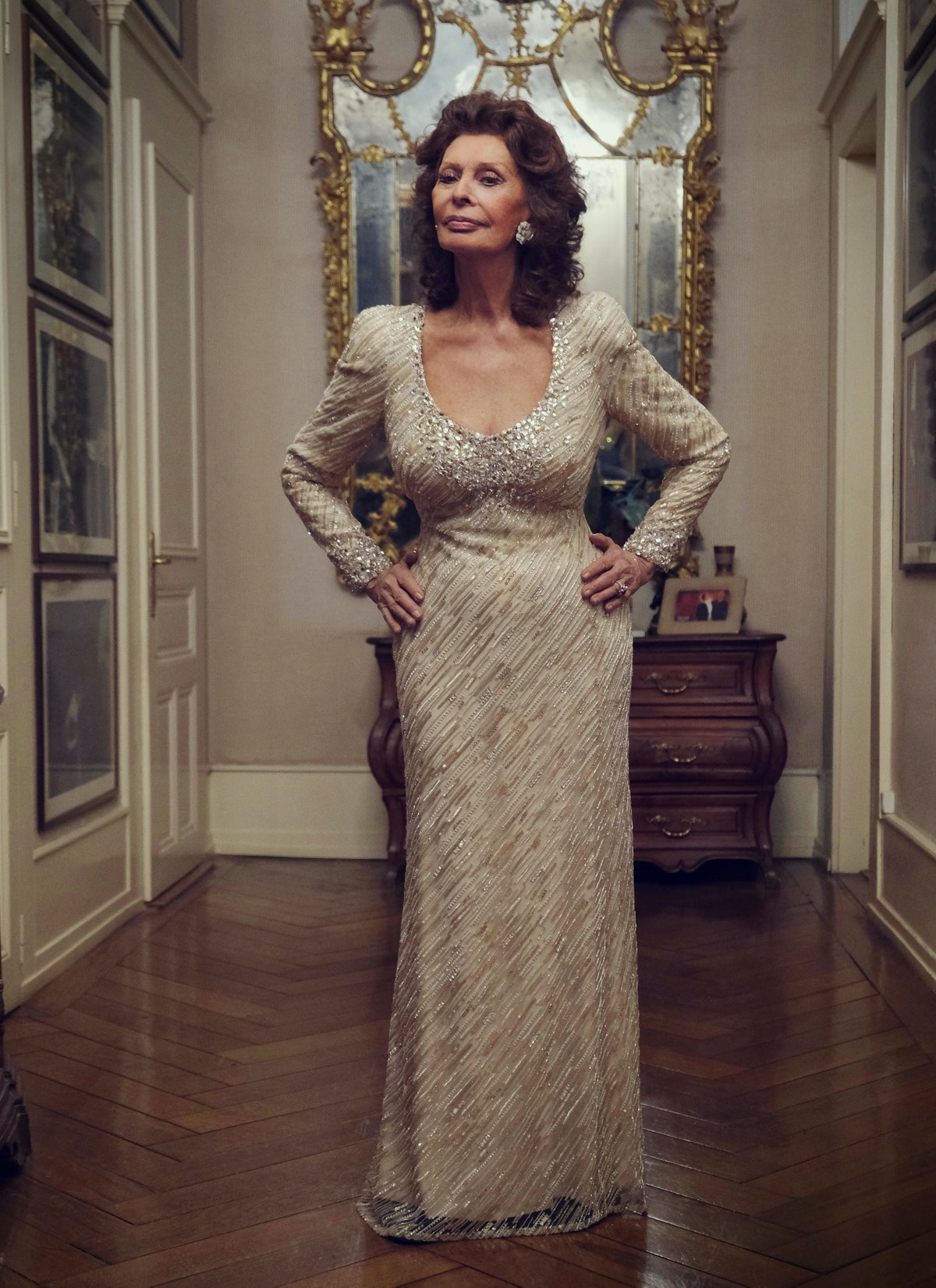Sophia Loren was photographed in Geneva in December 2020. Retouching: Simon Killick.                ...