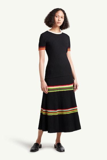 Saint Ann Ribbed Skirt