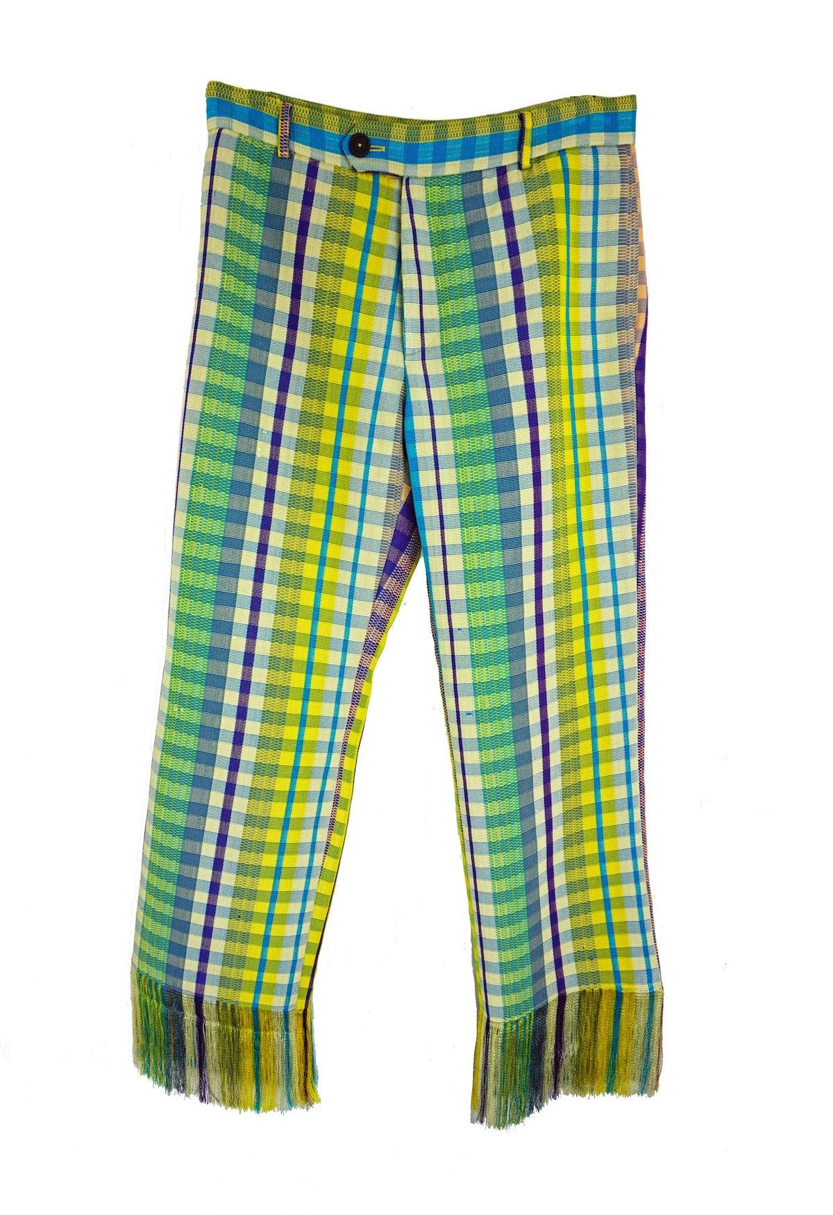 Kenneth Ize Josh Fringed Trousers