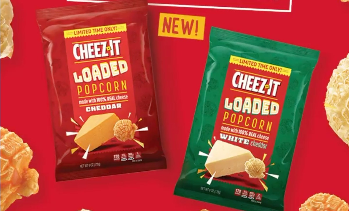 Cheez-It's Loaded Popcorn might just be the perfect snack combo.