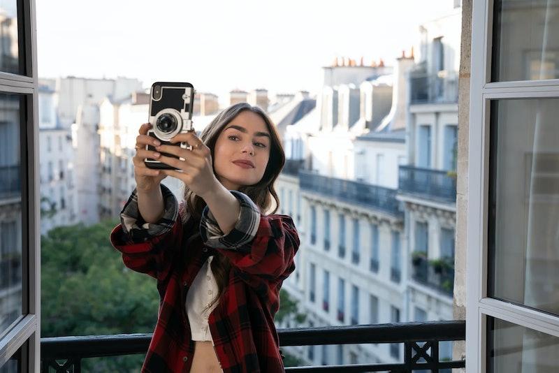 Netflix Emily In Paris Golden Globes. Photo via Netflix