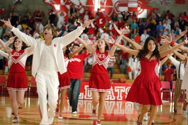 Disney's 'High School Musical' cast sings 'We're All In This Together.'