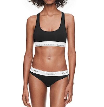 Calvin Klein Cotton Bralette and Bikini Set