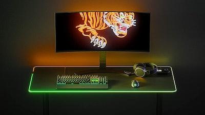 SteelSeries QcK Prism RGB Mouse Pad