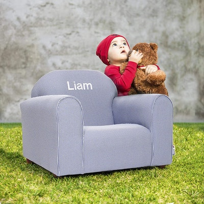 Mini Furniture Upholstered Personalized Kids Chair