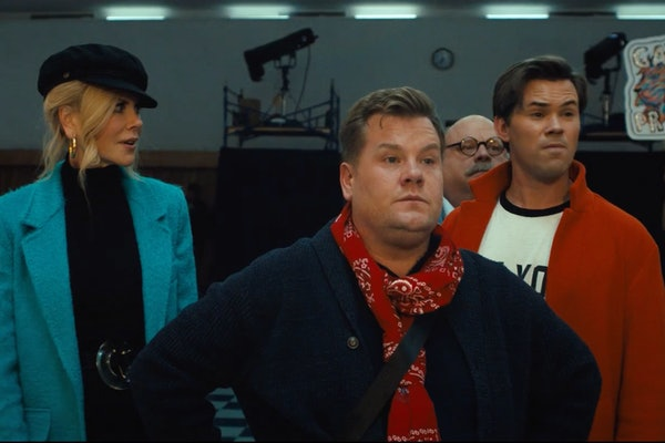 Twitter lost it when James Corden got a 2021 Golden Globes nomination for 'The Prom.'