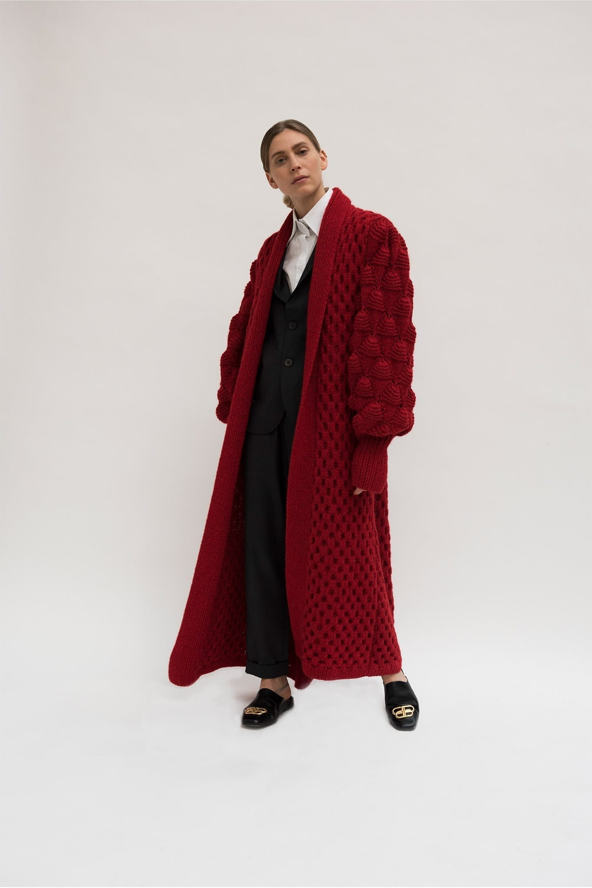Charlotte Cashmere Coat
