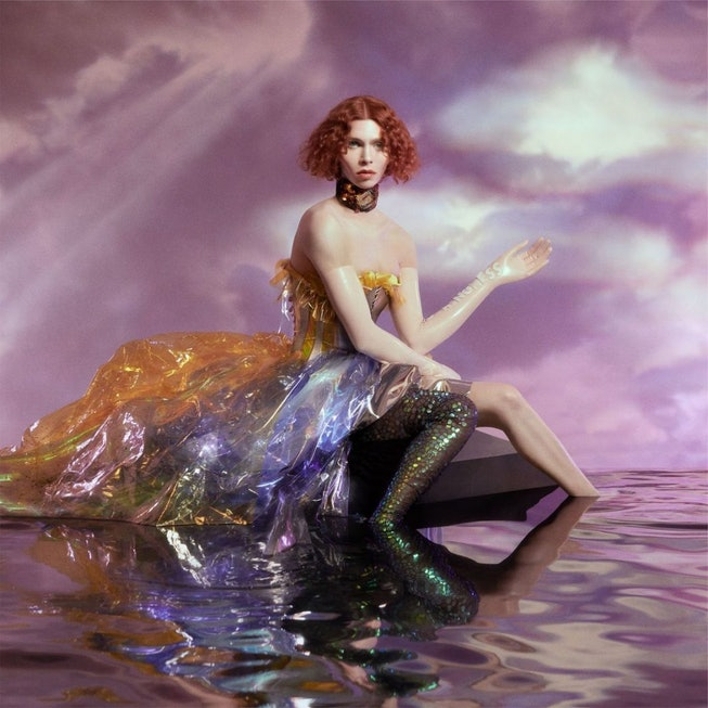 SOPHIE's album artwork for 'Oil of Every Pearl's Un-Insides.' Fans of the late producer are petitioning NASA to rename a planet after her.
