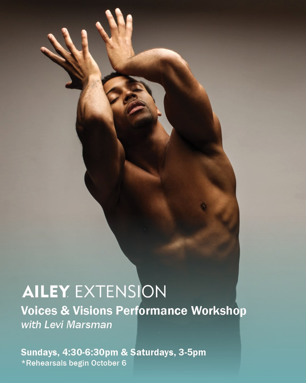 Ailey Extension Online Live Classes