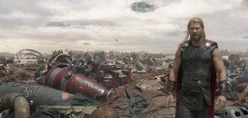 Sakaar in Thor : Ragnarok.