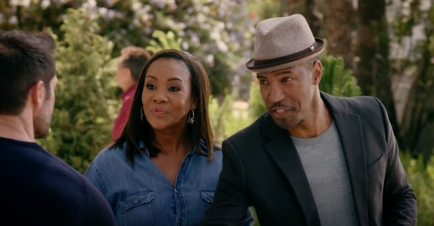 Vivica A. Fox stars in the seasonal 2016 film, 'A Husband For Christmas.'