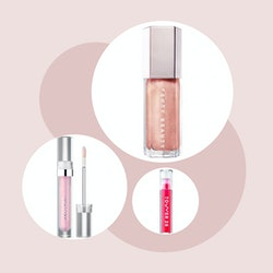 15 non-sticky lip glosses that are perfect for Valentine's Day.