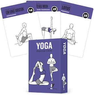 NewMe Fitness Yoga Cards with 70 Poses