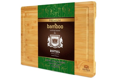Extra Large Organic Bamboo Cutting Board