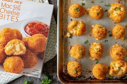 These mac and cheese bites are the ultimate Super Bowl dish.