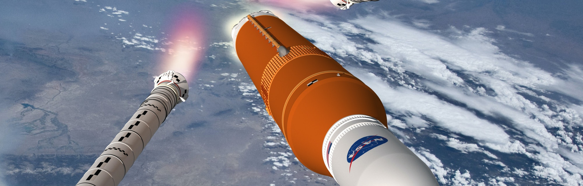 Nasa's Space Launch System.