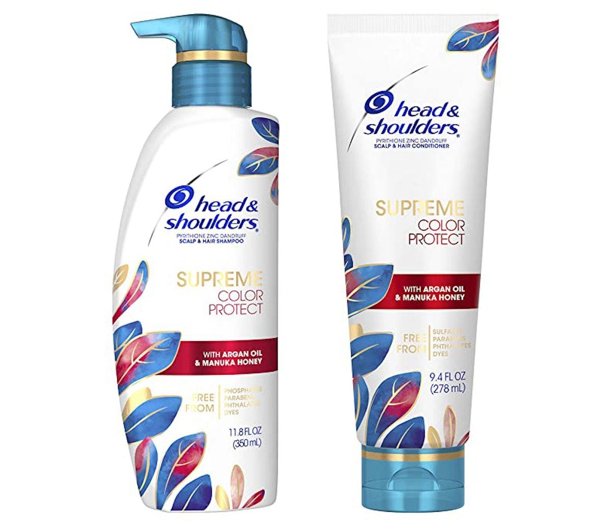 Head & Shoulders Supreme Color Protect Dandruff Shampoo and Conditioner
