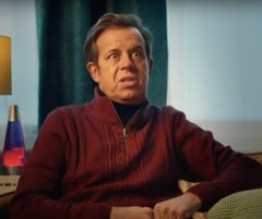 Pat Sharp stars in Walkers' new Quavers advert.