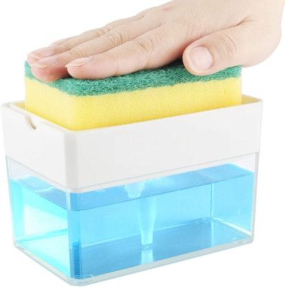 Albayrak Soap Dispenser and Sponge Holder
