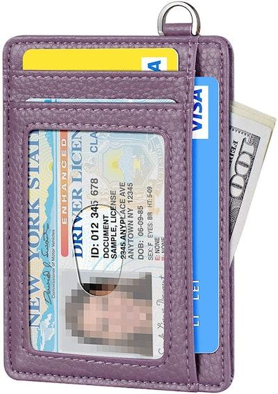 FurArt Slim Minimalist RFID-Blocking Card Holder