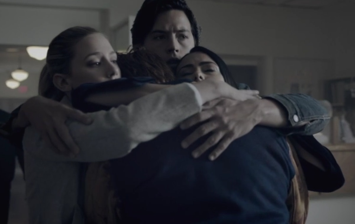 The Core 4 on 'Riverdale' embrace
