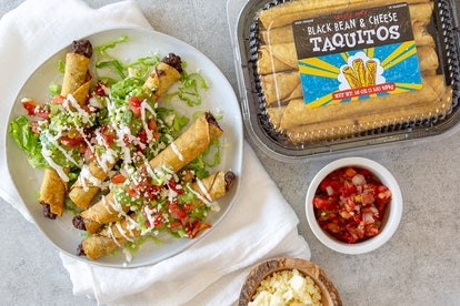 These black bean and cheese taquitos are the ultimate Super Bowl dish.