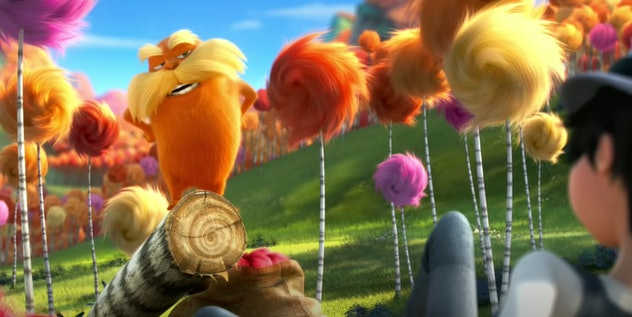 Danny Devito lends his voice to the 2012 film, 'Dr. Suess' The Lorax.'