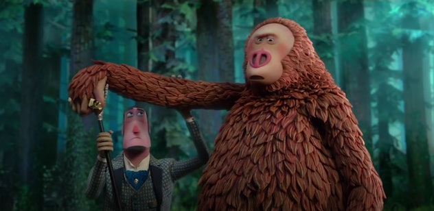'Missing Link' is a fun animated film about Big Foot.