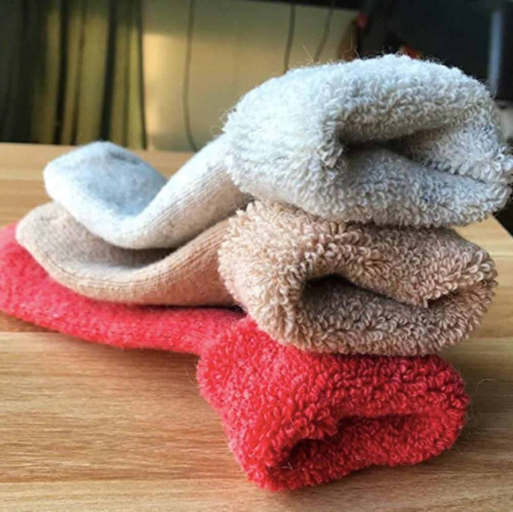 Yoicy Super Thick Wool Socks (3 Pairs)