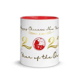 Elegant Coffee Mug Happy Chinese New Year