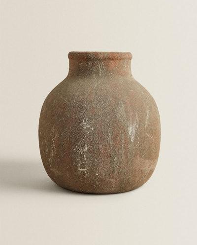 Antique-Finish Vase
