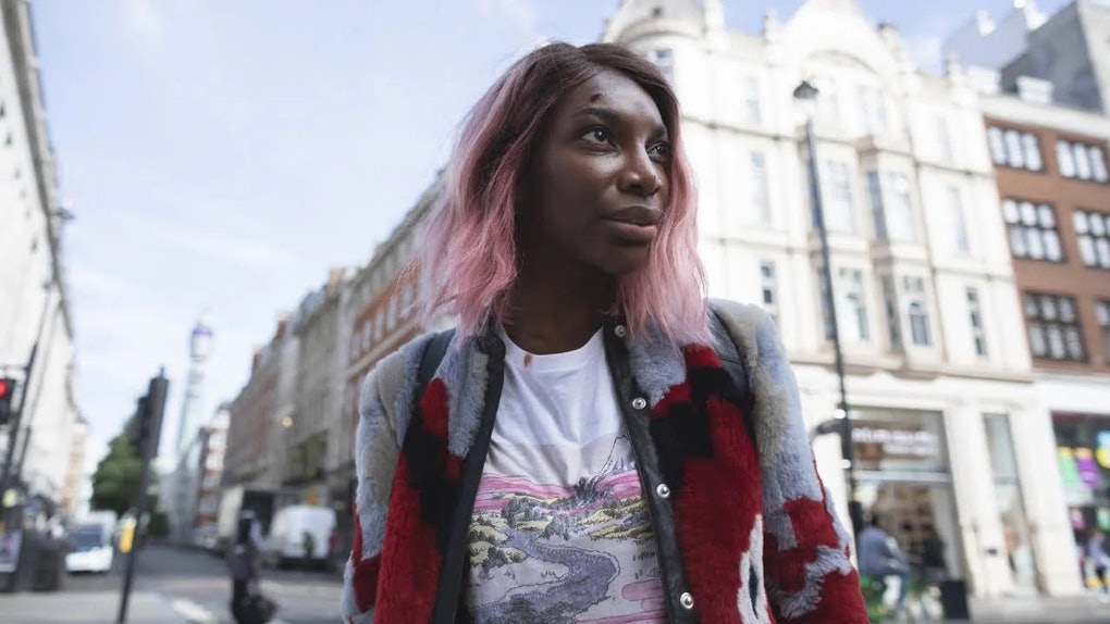 Michaela Coel in 'I May Destroy You,' which earned her a 2021 SAG Award nomination