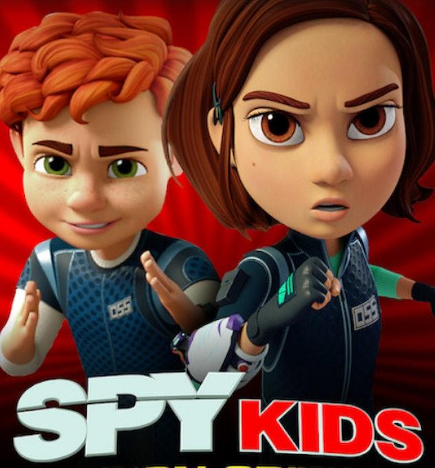 'Spy Kids: Mission Critical' on Netflix.