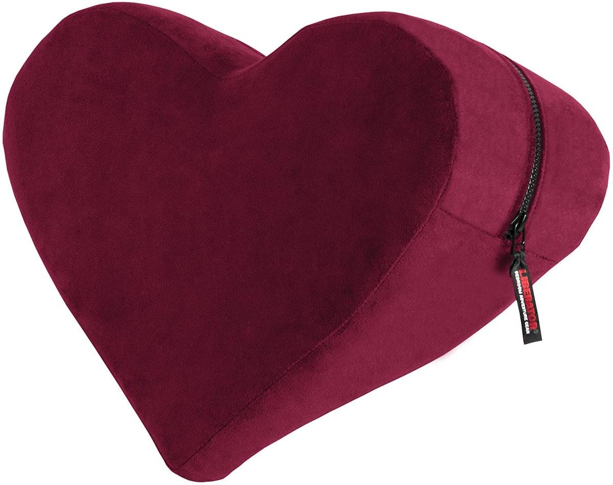 Heart Wedge Pillow