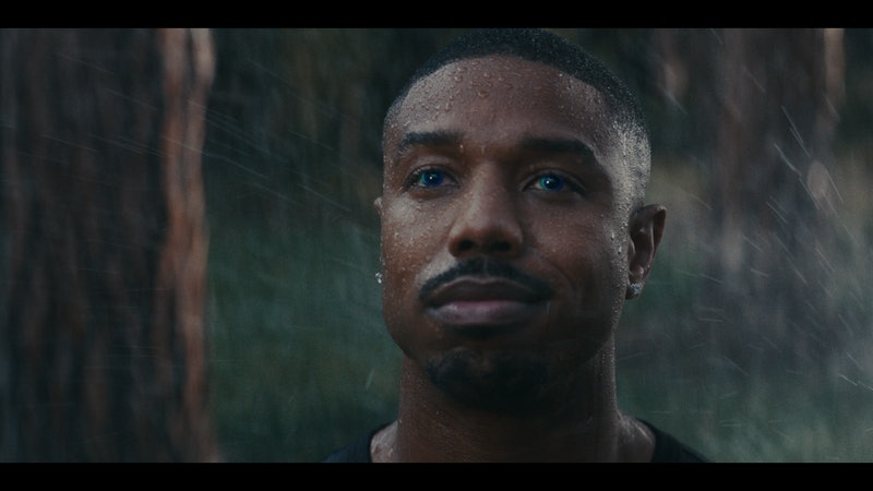 "Michael B. Jordan stars in Amazon's ""Alexa's Body"" Super Bowl ad. Photo via Amazon"