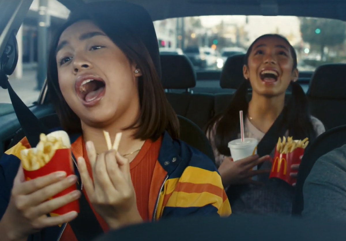 The songs in McDonald's Super Bowl 2021 commercial include some you may know.