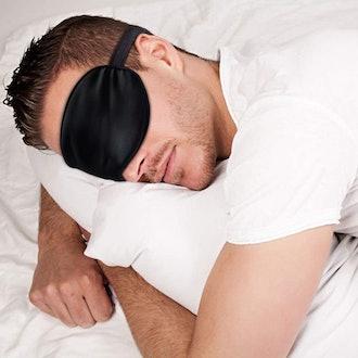 Aroayppmy Satin Sleep Mask