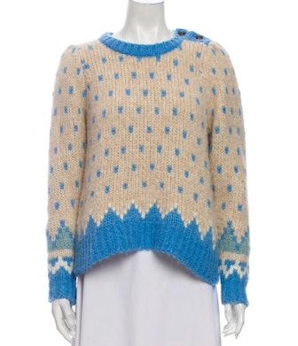 Alpaca Printed Sweater