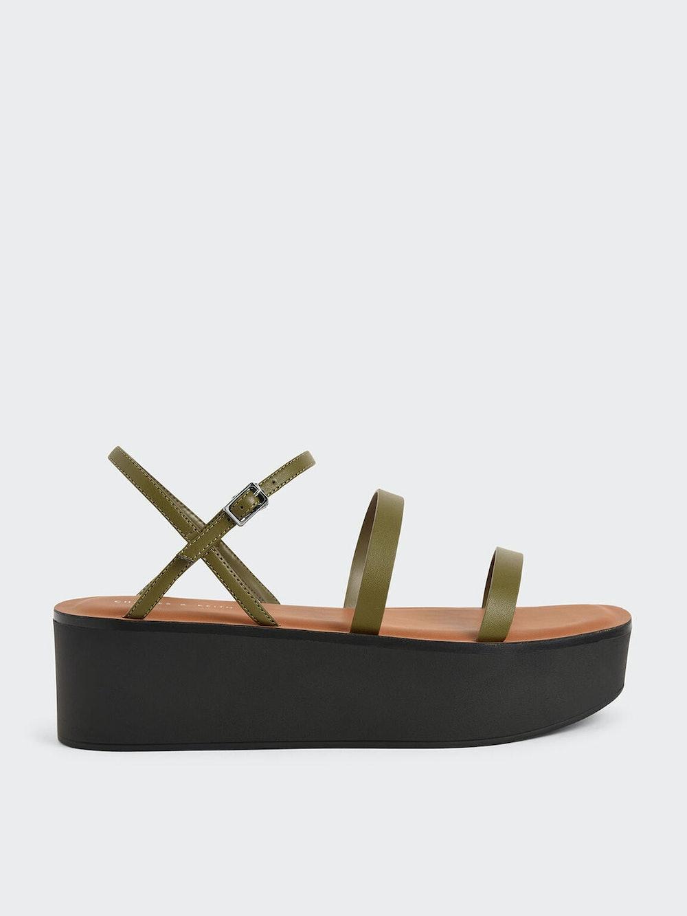 Strappy Flatform Sandals