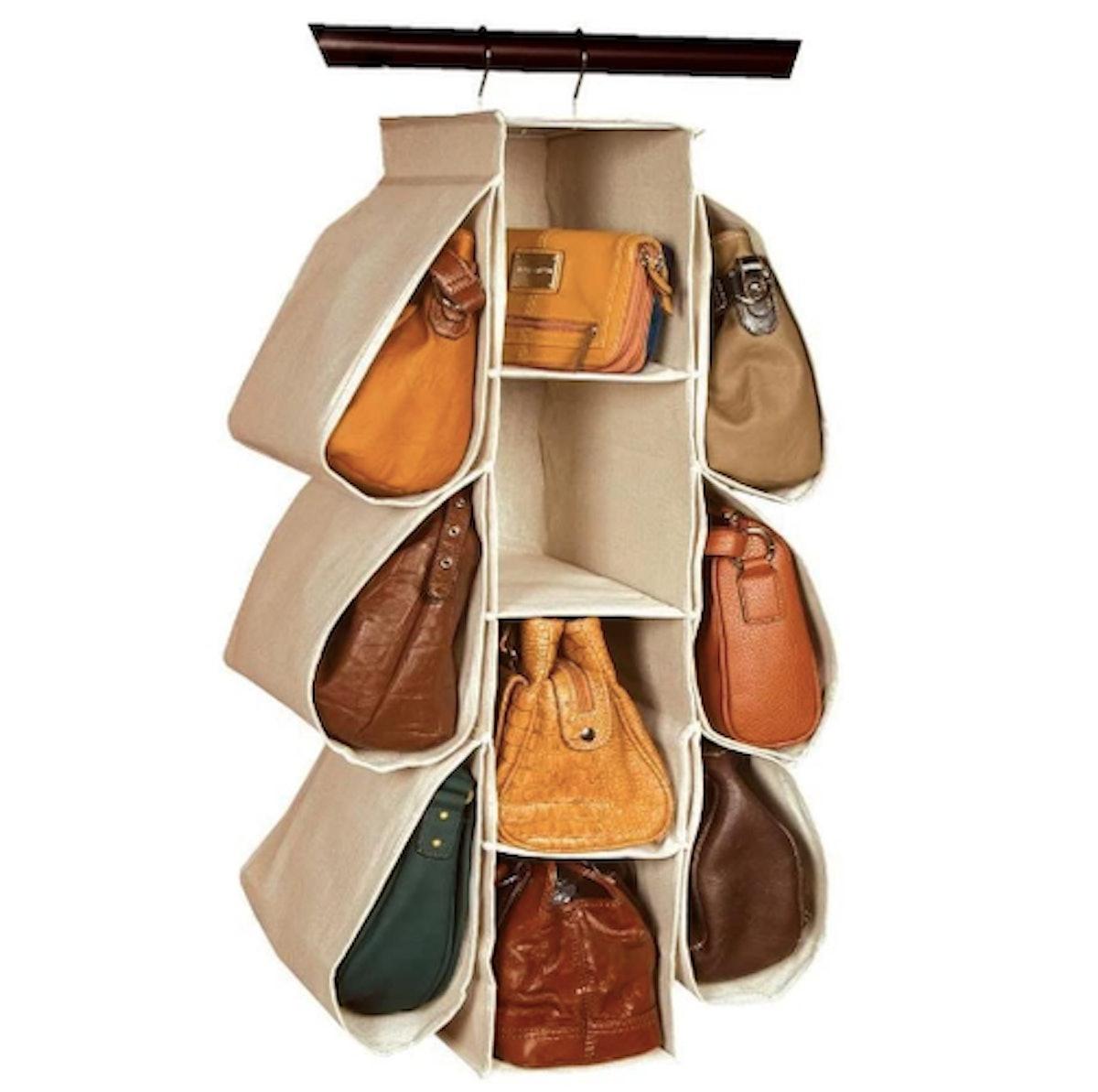 Longteam Hanging Purse Handbag Organizer