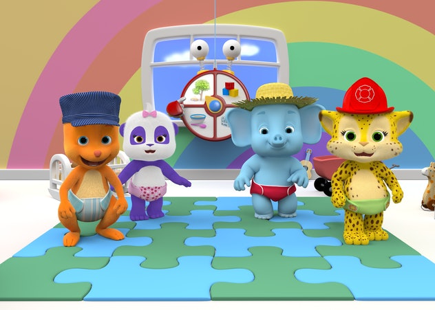 'Word Party' on Netflix is an adorable way for kids to learn their words.