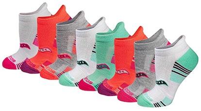 Saucony Performance Heel Tab Athletic Socks (8 Pairs)
